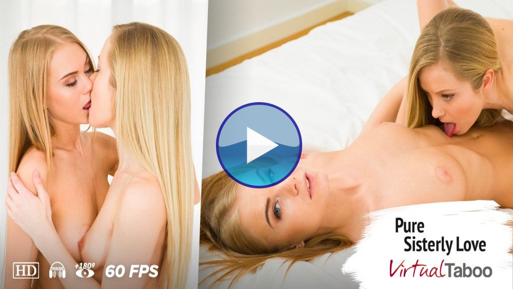 Virtual Taboo Pure Sisterly Love VR Porn Video