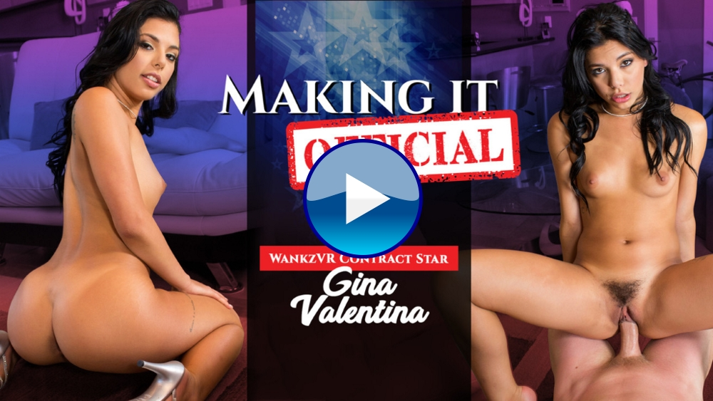 WankzVR Making It Official VR Porn Video