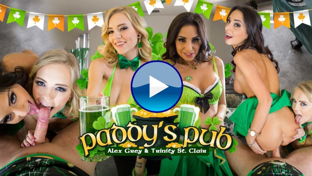 WankzVR Paddy's Pub VR Porn Video